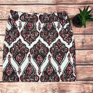 Merona Paisley Skirt